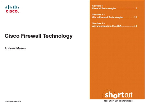 Cisco Firewall Technologies